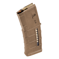 Магазин Magpul® PMAG® 30 GEN M3™ Window 5.56x45mm NATO на 30 патронов для AR15/M4 MAG556 (Sand)